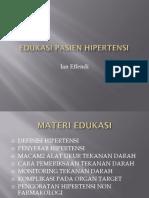 EDUKASI PASIEN HIPERTENSI