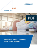 Country by Country Reporting in the Czech Republic