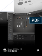 RA Kontakt GUI Maker Manual En