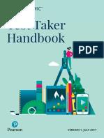 Test Taker Handbook