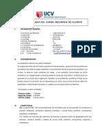 Silabo Mecanica de Fluidosucv Chachapoyas 2017 (Bienbien) timo