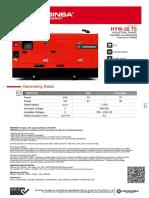 Hyw 35 t5 (Yanmar 4tnv98ggeh) [Standard Soundproofing b10] En