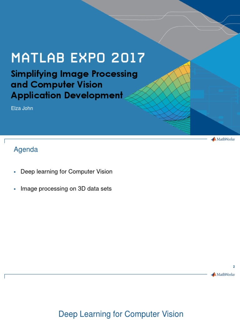 Simplifying Image Processing Computer Vision Application Development