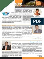 Newsletter SOE Even Semester 2016
