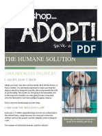 The Humane Solution