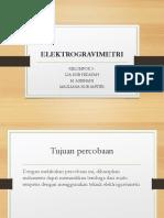 ELEKTROGRAVIMETRI Kelompok5