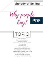 4-1 - The Psychology of Selling- Why People Buy