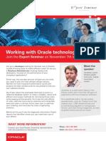 Expert Seminar Oracle