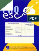 PRO-ESC(3-4)
