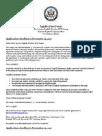 Camp EPIC 2018 Application Form