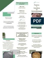 Projectos e consultoria em vermicompostagem