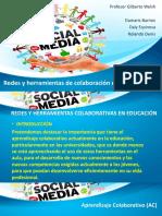 Redes y Herramientas Colaborativas en Educación