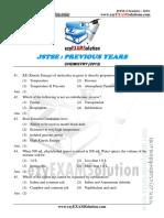 JSTSE Chemistry 2013 Ezyexamsolution.com