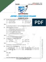JSTSE Chemistry 2014 Ezyexamsolution.com