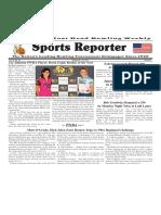 October 25 - 31, 2017  Sports Reporter