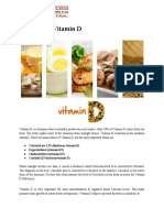 Medical Access - The Role of Vitamin D