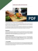 5 Técnicas de Cocinado Para Comer de Forma Más Cardiosaludable