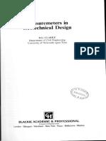Pressuremeters in Geotechnical Design