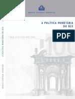 A POLÍTICA MONETÁRIA DO BCE 2004.pdf