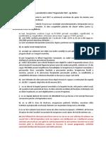 Sinteza - Schema de Ajutor de Minimis Prevăzută În Cadrul Programului Start