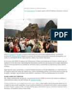 Visitantes de Países Emergentes Impulsarán El Turismo en América Latina