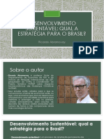 Desenvolvimento Sustentável - Ricardo Abramovay