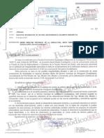 Documento que demuestra la investigación llevada a cabo por el Seprona a instancias de la Fiscalía - Almoguera