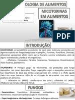 Micotoxinas e Aflatoxinas