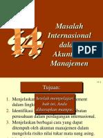 Masalah Internasional Dalam Akuntansi Manajemen