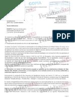 Respuesta de La Junta a La Información Solicitada Por El Fiscal a Través Del Seprona