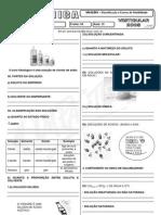 Química - Pré-Vestibular Impacto - Soluções - Classificação e Curva de Solubilidade