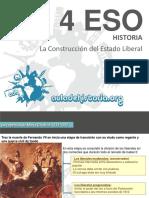 04.2 Adh4eso La Construccion Del Estado Liberal