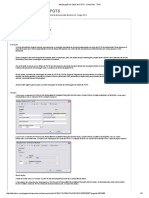 Atualização de Saldo de FGTS - Linha RM - TDN