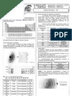 Química - Pré-Vestibular Impacto - Tabela Periódica - Classificação dos Elementos 02
