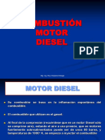 Combustión. Motor Diesel.
