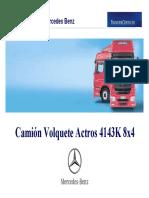 ACTROS  4143K 8x4