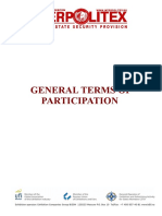 General Terms of Participation-2018
