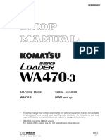 Shop manual WA470-3_sn50001and-Up