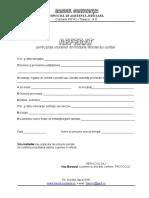 Formular Referat Oficii