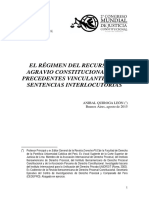 Ponencia El Rac Los Precedentes Vinculantes y La Sentencia Interlocutoria Tc 100315 Final (2)