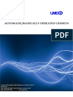 2011 - Genset Catalogue