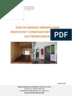 PROYECTAR Y CONSTRUIR INSTALACIONES ELECTROMECÁNICAS