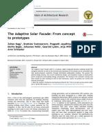 Adaptive Solar Facade