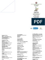 Program for Catania-leaflet