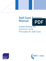 Self Care Training Manual