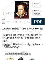 Did Elizabeth Have a Middle Way