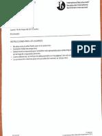 Prueba de Química-IB 2013
