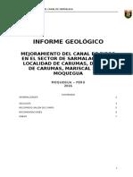 Informe Geologico