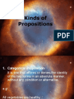 Kinds of Propositions
