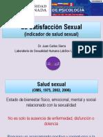 Satisfacción Sexual Como Indicador de Salud Sexual